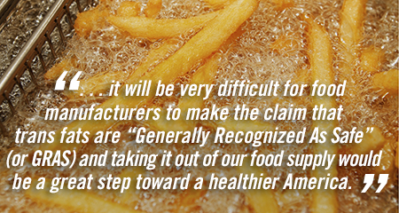 Banning Trans Fats: Good for Health or Overly Cautious?