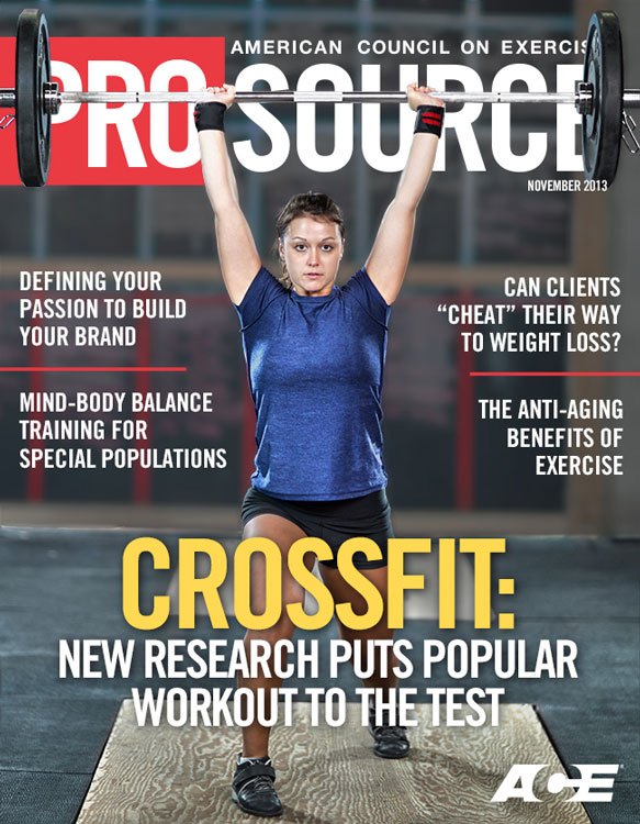 ACE - ProSource™: November 2013 - CrossFitTM: New Research ...