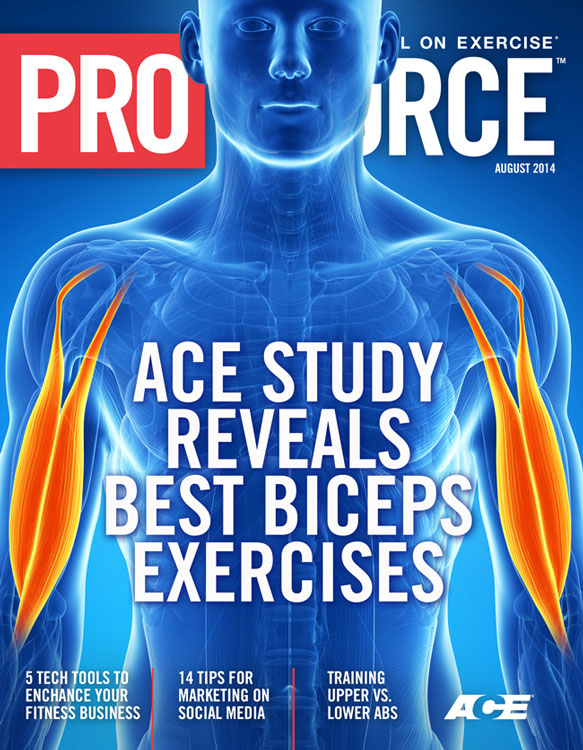 ACE Study Reveals Best Biceps Exercises - ACE Personal Trainer