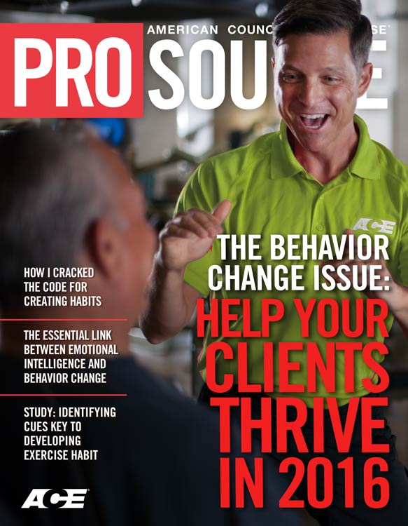 ProSource™: Behavior Change Special Issue
