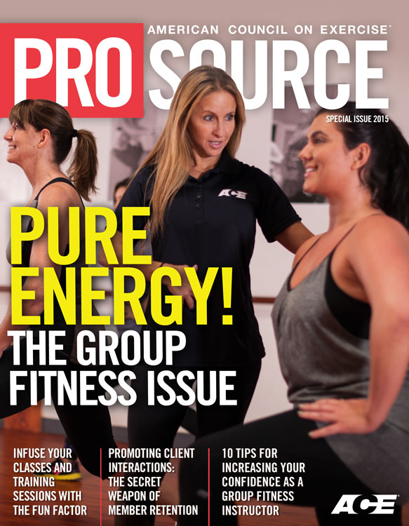 ProSource™: Group Fitness Special Issue