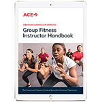 ACE Group Fitness Instructor Manual eBook