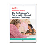 The Professional's Guide to Health and Wellness Coaching eBook
