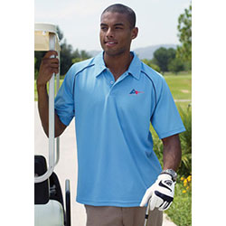 Men's Short Sleeve 2 Button Polo