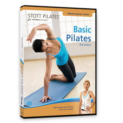 Basic Pilates DVD, 2nd Edition by STOTT PILATES