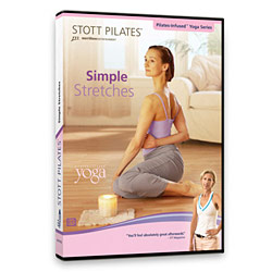 Simple Stretches DVD by STOTT PILATES