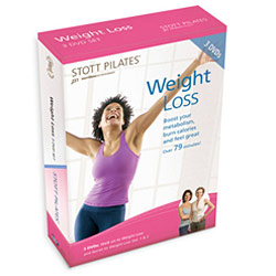 Weight Loss DVD Three-Pack by STOTT PILATES
