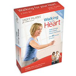 Walk For Your Heart DVD Two-Pack by STOTT PILATES