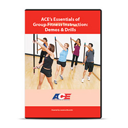 ACE's Essentials of Group Fitness Instruction: Demos and Drills