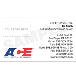 ACE Business Cards for Certified Pros