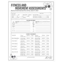 fitness assessment template
